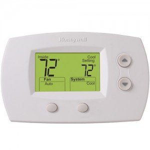 Focuspro Non Programmable Digital Thermostat - TH5220D1003 Thermostat FocusPRO 5000 Non-Programmable - Standard Screen-2PK