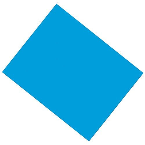 Pacon PAC53861 Coated Poster Board, Blue, 22