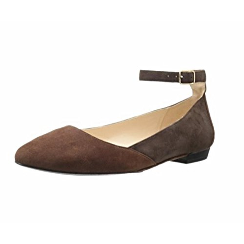 Used, Sacha London Women's Blossom, Dark Brown Kid Suede, for sale  Delivered anywhere in USA
