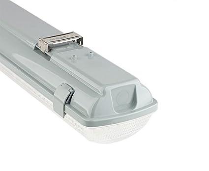 Plafoniera Con Tubo Led : Kingled supporto portatubo stagna per tubi led t da cm