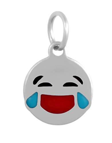 J&M Dangle Tears of Joy Emoji Charm for Bracelets