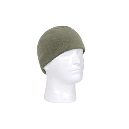 RTC Deluxe Soft Polar Fleece Beanie Watch Cap (Foliage Green)