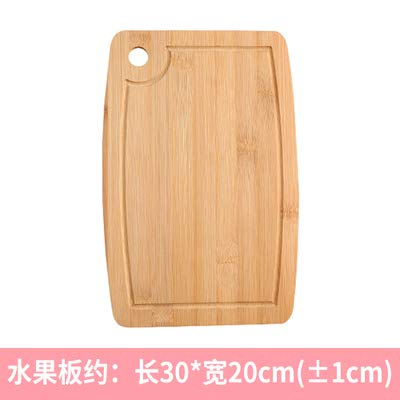 (Best Quality - Dishes & Plates - Natural paint-free round Pizza plate Cut bread dessert steak chopping board Japanese dishes Western dishes Pizza Tray Bamboo - by SeedWorld - 1 PCs)