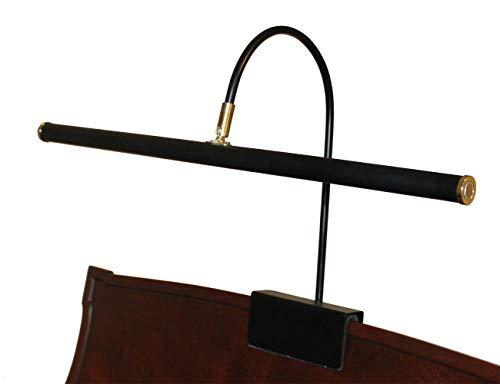 Grand Lamp Piano Adjustable (LED Piano Lamp Black 21.75