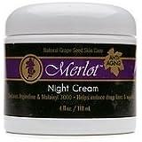 Merlot Natural Grape Seed Night Cream Facial Night Treatments