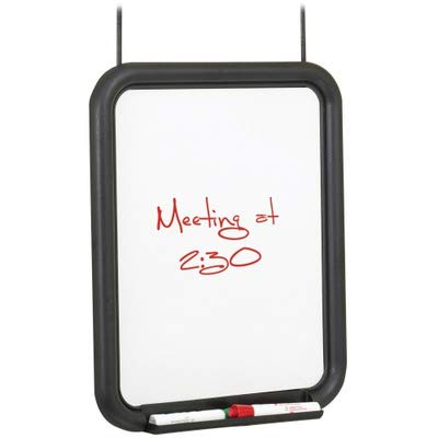 (Safco Products 4158CH PanelMate Dry-Erase Markerboard, Charcoal)