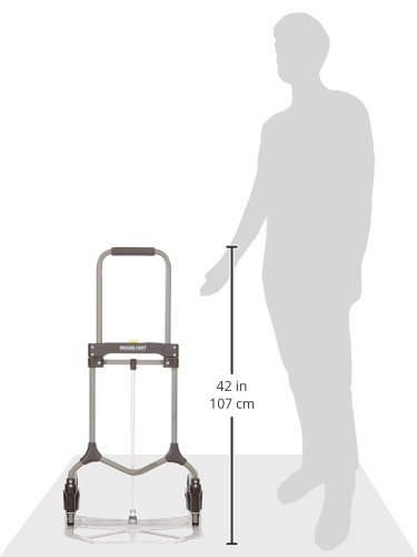 Frustration-Free Packaging Welcom MC2S Magna Cart Elite 200 lb Capacity Folding Hand Truck Silver