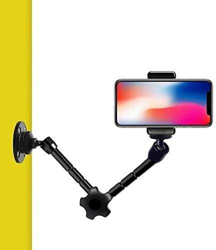 Soporte de pared para teléfono móvil, brazo articulado para iPhone ...