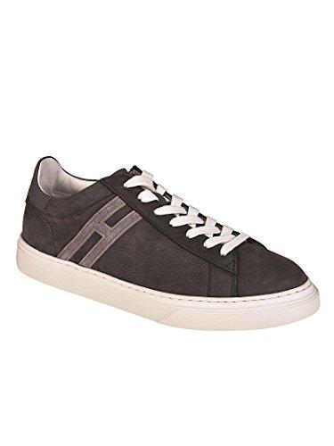 Hogan Sneaker H365 Grigie con H Allungata Grigio HXM3650J960I7P