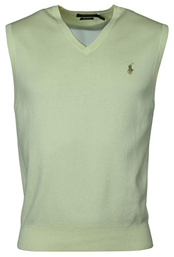 - Polo Ralph Lauren Men's Pima Cotton Sweater Vest - M - Gray
