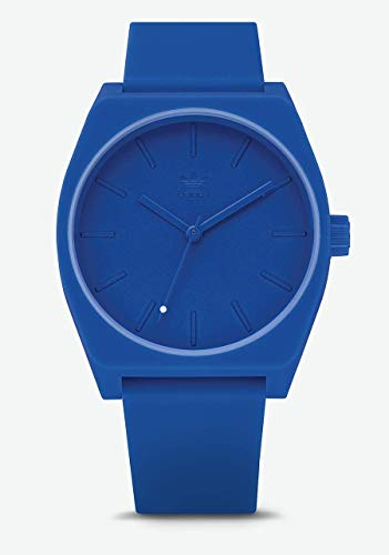 adidas Originals Watches Process_SP1. Silicone Strap 20mm Width (38 mm) -All Blue (Watch Adidas Men)