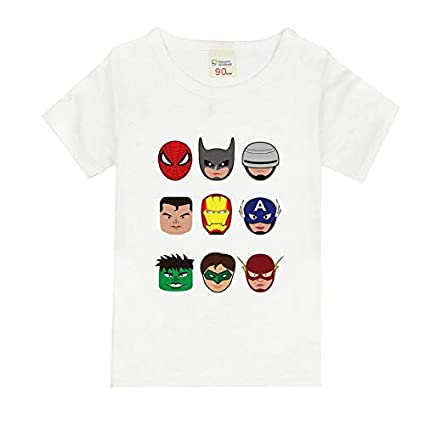fe4c3420a3912 Amazon.com: Grocoto T-Shirts - 12M-8years Toddler Boys Batman t ...