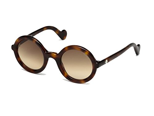 Sunglasses Moncler MRS MONCLER ML 5 52F dark havana / gradient - Mens Sunglasses Moncler