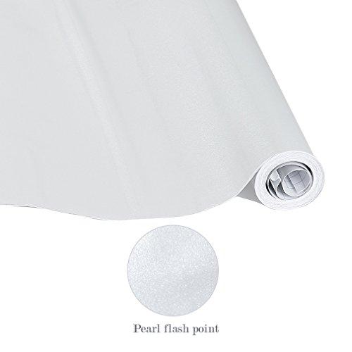 KINLO PVC Papel Pegatina Pintado Autoadhesivo para Pared Cocina Mueble Armario Cristal 0.61 x 5M (Gris): Amazon.es: Hogar