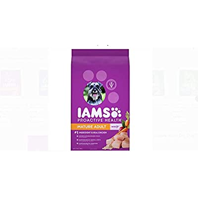 Iams Pack of 2 Proactive Health Mature Adult Dry Dog Food 15 Pounds