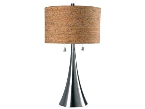 Kenroy Home 32092BS Bulletin Table Lamp (Natural Reed Finish Bases)