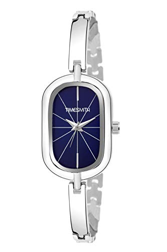 Timesmith Blue Dial Silver Stainless Steel Strap Analog Watches for Girls TSC-065 (B07SVY9CCL) Amazon Price History, Amazon Price Tracker
