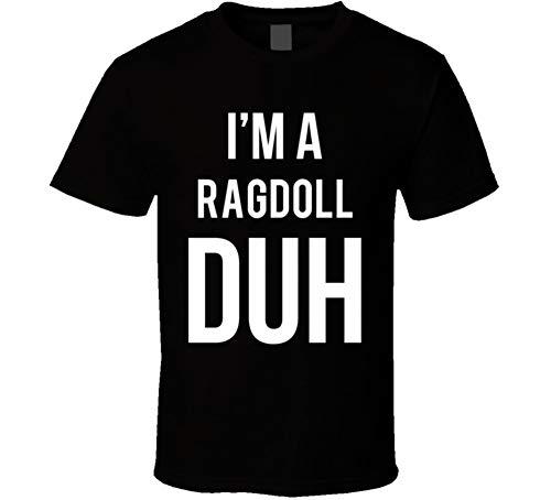 (I'm a Ragdoll Duh Parody Costume Halloween T Shirt 2XL)