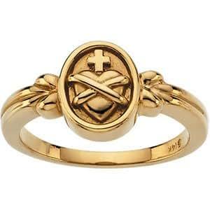Amazon.com: Sacred Heart Ring: Jewelry