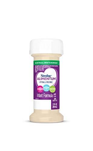 Similac Alimentum, Ready to Feed, 2 Fl Oz Bottle, 48 Bottles Expert Care Infant Formula - purple
