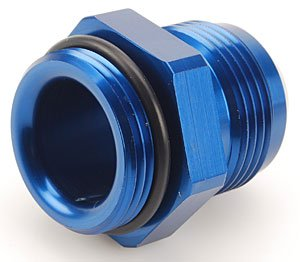 Meziere WP16016B Blue 16AN O-ring to 16AN Flare Fitting