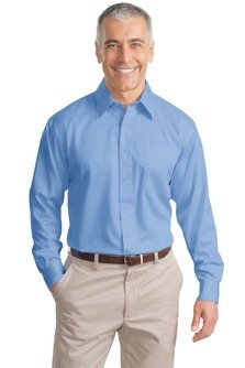 Port Authority; Long Sleeve Non Iron Twill Shirt. S638-simple