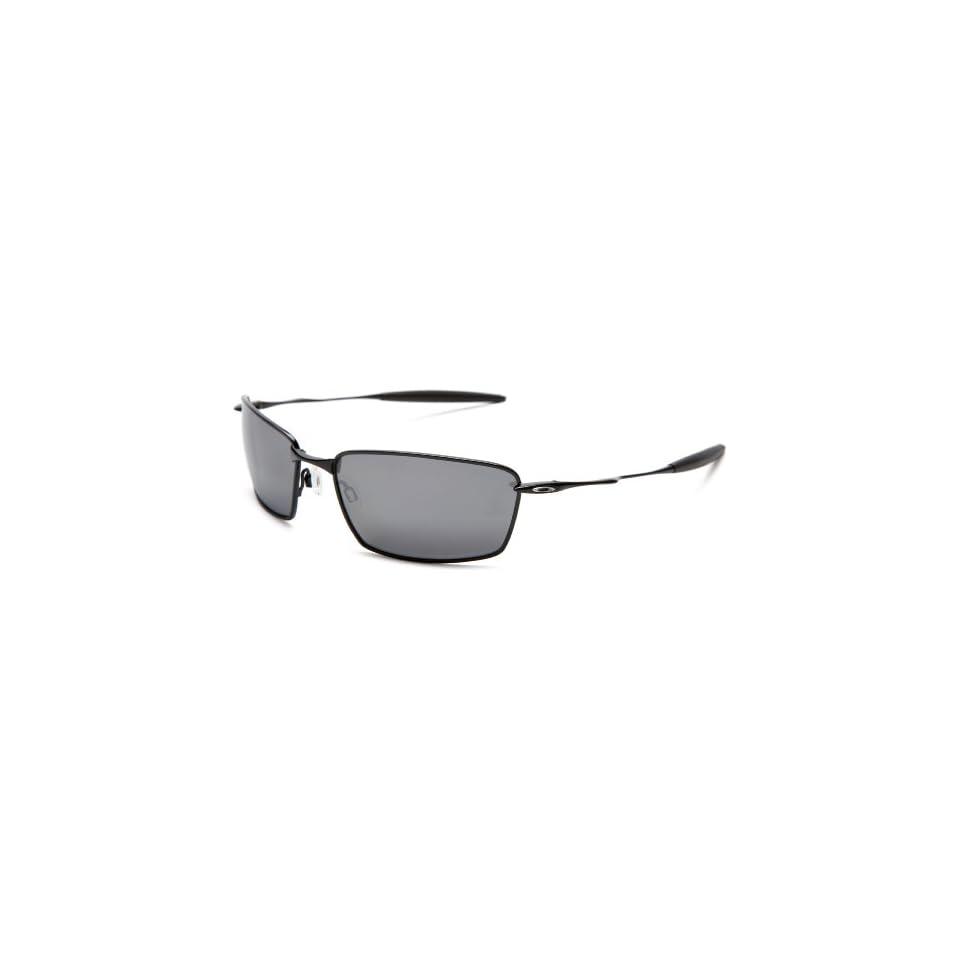 2dfb476b868 Oakley Mens Square Whisker Iridium Polarized Sunglasses designer on ...