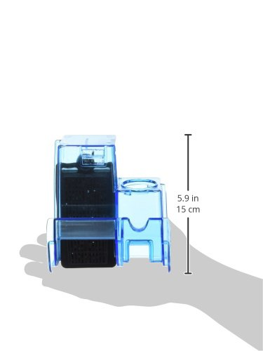 Image of Penn Plax Cascade Hang-on Aquarium Filter With Quad Filtration System Cleans Up to 10 Gallon Tank