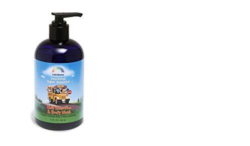 Rainbow Research - Organic Herbal Shampoo and Body Wash For Kids ( 3 - 12 FZ)