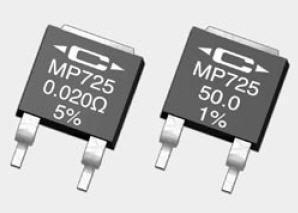 Caddock MP725-75.0-1/% Resistor; Thick Film; Res 75 Ohms; Pwr-Rtg25 W; Tol 1/%; SMT; D-Pak 5 pieces