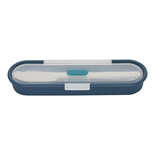 BUILT Gourmet Stainless Steel Utensils With Case Teal 5238265