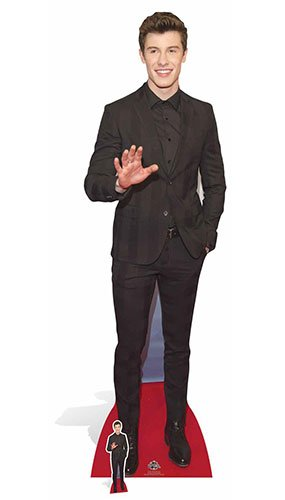 Star Cutouts, sagoma di cartone Shawn Mendes CELEBRITY STANDEES CS657