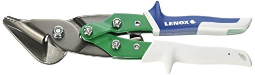 Lenox 22207 Right Offset Snips, Green