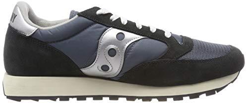 para Silver Navy Saucony Blue de Azul Jazz Hombre Vintage Original 4 Cross Zapatillas w44YSPxq
