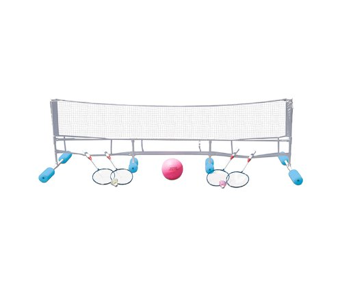 Volleyball Swimming Pool (Poolmaster 72708 Super Combo Water Volleyball / Badminton Game)