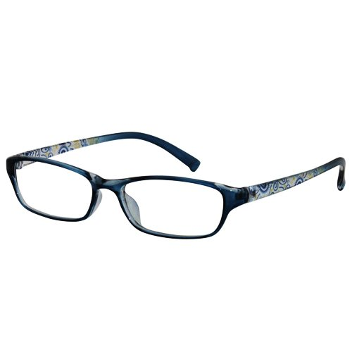 EyeBuyExpress Shield Blue Reading Glasses Magnification Stre