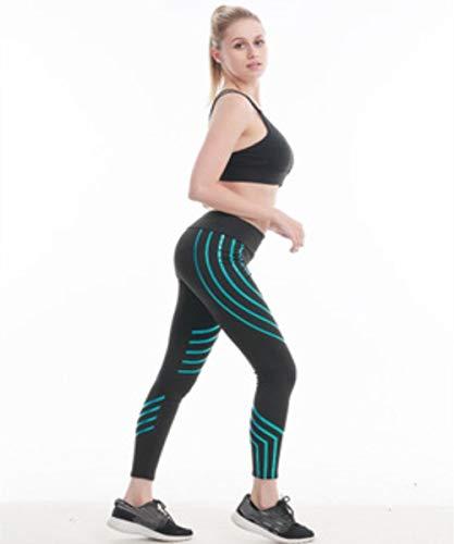 Hanche s Automne Yoga Stretch De Laser Jogging White Haute 3d white La Pantalon Serré Dames Ads Pants Pantalons Force Taille SdxUOSR