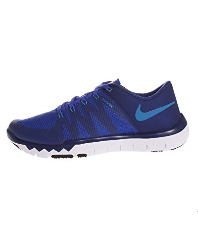 Nike Free Trainer 5.0 V6 Herren Low-Top Azul / Blanco (Dp Ryl Blue / Pht Bl-Rcr Bl-Blk)