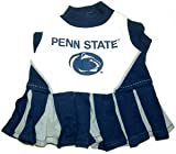 Penn State Nittany Lions Dog Cheer Leading Dress & Leash Set Size MD