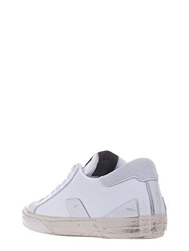 Philippe Model Bercy Sneakers in Pelle Bianco Stile Urban-Chic