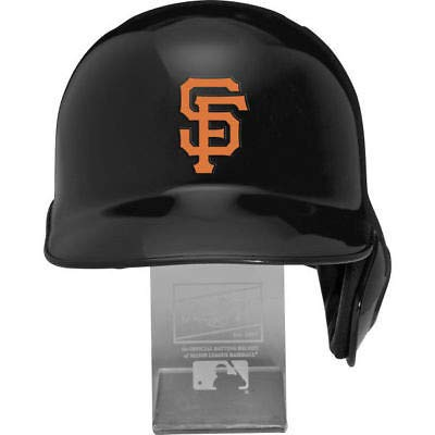 Rawlings MLB San Francisco Giants Replica Batting Helmet with Engraved Stand, Official Size, ()