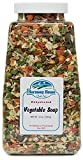 #1: Harmony House Foods Soup Mix, Dried Vegetable, 12 Ounce Quart Size Jar