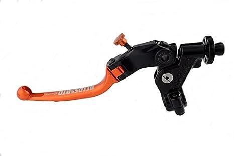 accossato Control Palanca embrague con Micro y soporte espejo incluye, 24 mm, RST Arancio: Amazon.es: Coche y moto