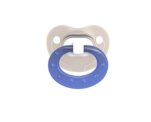 Nuk Pacifier (NUK Translucent Pacifier, 0-6 Months, Boy, 2 pk)