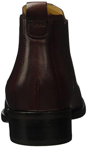 Gabor Shoes Fashion, Botas Chelsea para Mujer Rojo (Merlot Effekt)