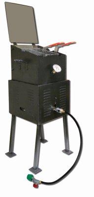 King Kooker 2296 Outdoor Portable Cooker, DLX Black ()