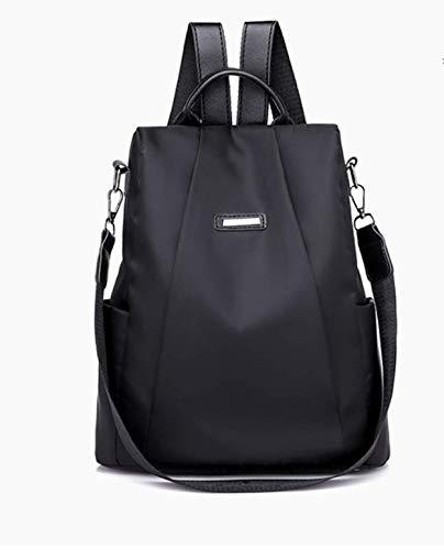 Women Backpack Purse Drawstring Daypack Travel Bag Waterproof Nylon Anti-theft Rucksack Lightweight Shoulder Bag