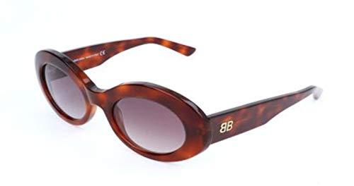 Balenciaga BA0145 Blonde Havana/Gradient Bordeaux One Size