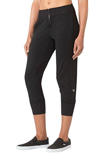 MPG Julianne Hough Women's Simpatico Cropped Jogger M Black