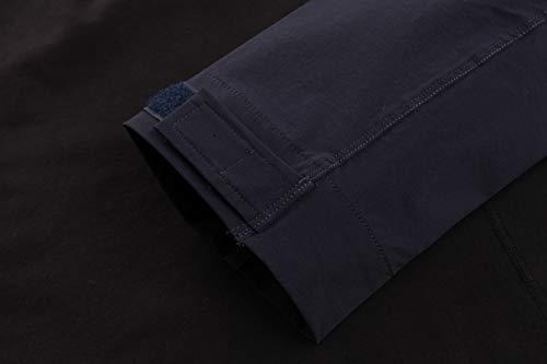 KEFITEVD T-shirt tactique pour homme avec fermeture éclair 1/4 - Avec poches sur les manches - Fermeture Velcro - Pour… 5